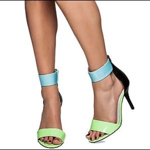 Jeffrey Campbell Inaba Glow in Dark Sandal 8.5